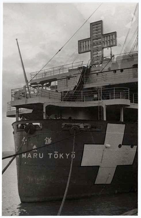 © ICRC. Rapatriement des ressortissants américains sur «Teia Maru», navire japonais de 15'000 tonnes (Shanghai).